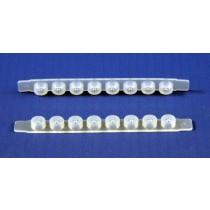 SPE MicroPlate 96-well Plates - u-elution: TELOS Micro Plate Sealing Strips