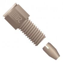 """Rheodyne (IDEX Health & Science )  Rheflex™ Fitting, for 1/16"""" OD Tubing, 10-32 Coned, PEEK™, Natural"""
