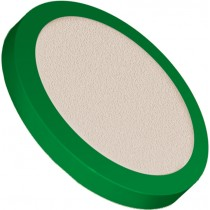 """Filters & Frits: PEEK™ Frit in PCTFE Ring, Natural, 2µm, 0.620"""" Frit OD / 0.750"""" Ring OD"""