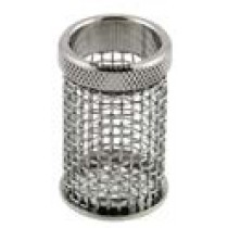 QLA Dissolution Baskets: 10 Mesh Standard Push-On Style Basket for Distek, 316 SS, Serialized