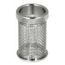 QLA Dissolution Baskets: 20 Mesh Standard Push-On Style Basket for Distek, 316 SS, Serialized
