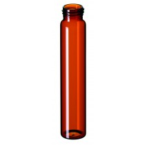 60ml EPA Screw Neck Vial, 140 x 27.5mm, amber glass, 1. hydrolytic class