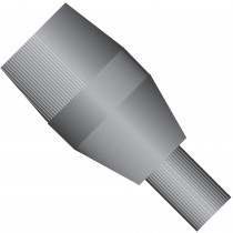 Conductive Ferrule, for 360 µm OD Tubing, 10-32 Coned, Conductive Perfluoroelastomer, Natural