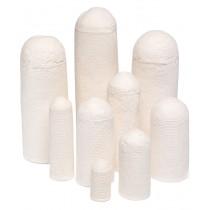 Filter Paper & Soxhlet Thimbles: KX Soxhlet Thimble, 26 x 30 x 60mm