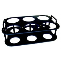 QLA Dissolution Storage Racks, Holders and Accessories: 6 Position Vessel Stand, Universal