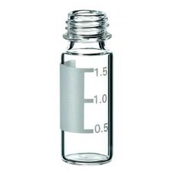 Vials, Caps and Closures: SureStop Short Thread Vial 9mm ,2ml (12 x32mm), Label