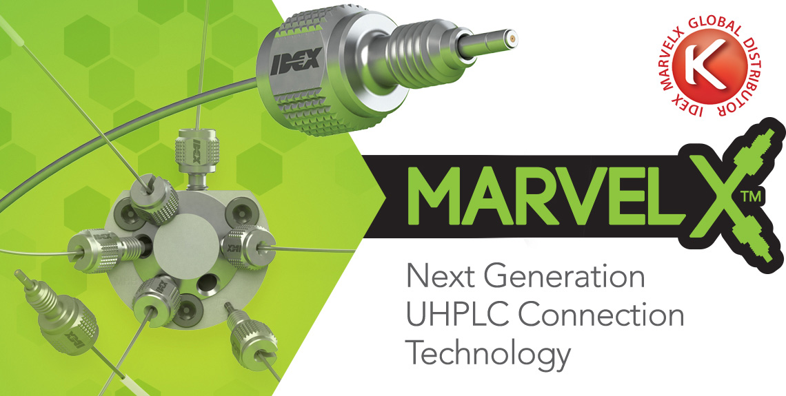 Introducing MarvelX™ - A revolution in UHPLC connection systems