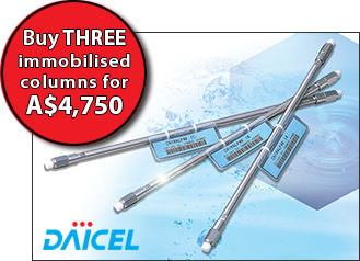 Buy three immobilised columns for A$4,750