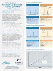 Sub-2μm Chiral UHPLC Columns Data Sheet