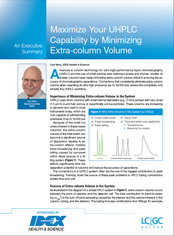 White Paper: Maximise your UHPLC capability by minimising extra-column volume
