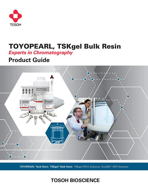 Tosoh TOYOPEARL & TSKgel Bulk Resin Product Guide