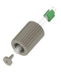 Connectors for peristaltic pump tubing