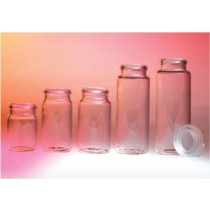 Snap Top Vial and Cap, 15ml (48 x 25mm)