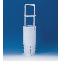 Brand Pipettes/Dispensers: Pipette basket, PE-HD, with handle