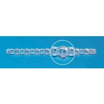 Brand: PCR Products: Cap, Blau, Domed for PCR Tube 781324, 125 Strips Of 8 Cap