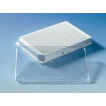 Brand: Microplates: Lid w/o condens.rings for plates 96well tr. bott 384well