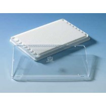 Brand: Microplates: Lid w/o condens.rings for Brandplates 1536 well Std 96-well tr.bott.384-well