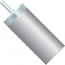 """Filters & Frits: Inlet Solvent Filter, with Stem, 10µm, 1/16"""" ID Tubing, SST"""