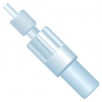 """Filters & Frits: Inlet Solvent Filter Assy. (BOB), 10µm, 1/8"""" OD Tubing, UHMWPE, ETFE (incl. (1) XP-345)"""