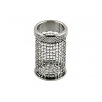 QLA Dissolution Baskets: 10 Mesh Clip Style Basket for Caleva, 316 SS, Serialized