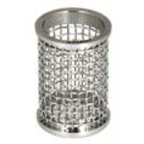 QLA Dissolution Baskets: 10 Mesh Clip Style Basket for Pharmatest, 316 SS, Serialized