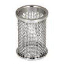 QLA Dissolution Baskets: 20 Mesh Clip Style Basket for Pharmatest, 316 SS, Serialized