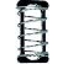 "QLA Dissolution Capsule Sinkers: Spring Style Capsule Sinker, 316 SS, .61"" L × .19"" W capacity"