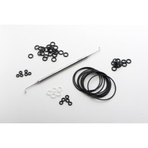 O-Ring, 5.92mm i.d., to connect 6mm o.d. tubes - Markes International
