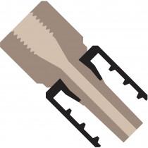 Adapters & Connectors: Adapter, Luer (Male) to 10-32 Coned (Female), PEEK/PEEK
