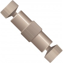 """Adapters & Connectors: True ZDV Union, for MicroTight Tubing Sleeves (0.025""""OD), PEEK™, 6-32 Coned"""