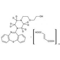 Cerilliant: Quetiapine-D8 hemifumarate, 100