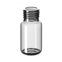 10ml Precision Thread Headspace-Vial, 46 x 22.5mm, clear glass, 1st hydrolytic class, rounded bottom (for MAGNETIC screw caps)