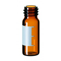 2ml Screw Neck Vial, 10-425 thread, 32 x 11.6mm, amber glass, 1st hydrolytic class, wide opening, label and filling lines