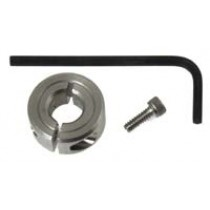 "QLA Dissolution Accessories: Shaft Collar & Hex Key for 3/8"" OD Shaft"