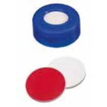 Vials, Caps and Closures: Snap Cap 11mm Blue, Soft Cap