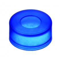 Snap Cap 11mm , Moulded Septa, Thinned Pierce Area, Blue