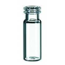 2ml Snap Ring Vial, 32 x 11.6mm, clear glass, 1st hydrolytic class, wide opening