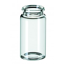 15ml Snap Cap Vial ND22, 48 x 26mm, clear glass, 3rd hydrolytic class