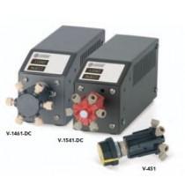 Rheodyne (IDEX Health & Science ) Medium Pressure Valves: Medium pressure 4-way right angle flow switching valve  (Manual)
