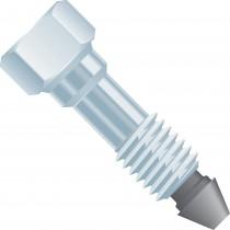 Upchurch: VHP Ftg 1/16in 1-piece Long