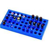 Discounted Vials and Caps: Vial Rack, Polypropylene, 12mm x