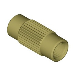 Adapters & Connectors: Adaptor, Threaded, 1/4