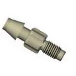 Adapters & Connectors: Adatpter, Thread to Barbed, 1/4