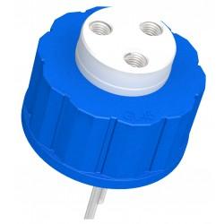 Diba Labware: Q-SERIES CAP, GL45, 3 PORTS