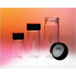 Screw Caps, Urea, Black, 10mm, with Foil Liner