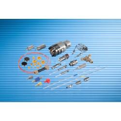 Kinesis Pump Spares: Piston Seal Black Bischoff 2200, 2250, 2500 Microflow