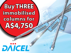 Daicel Immobilised Chiral Columns Special Offer