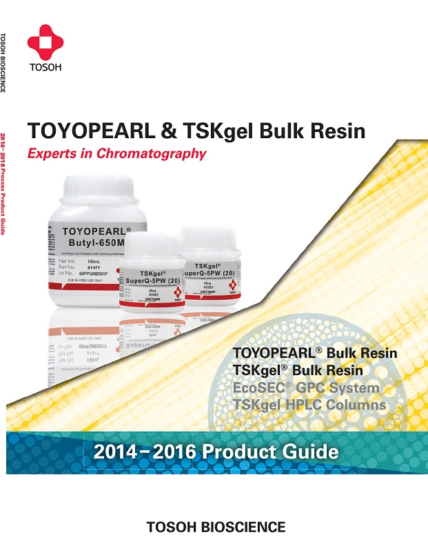 Tosoh Bioscience TOYOPEARL & TSKgel Bulk Resin Product Guide